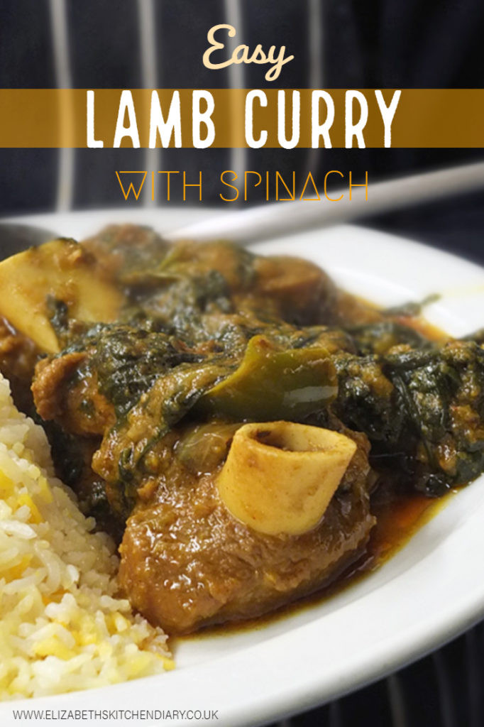 Easy Lamb Curry with Spinach Recipe