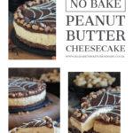 Creamy Skippy Peanut Butter Cheesecake image