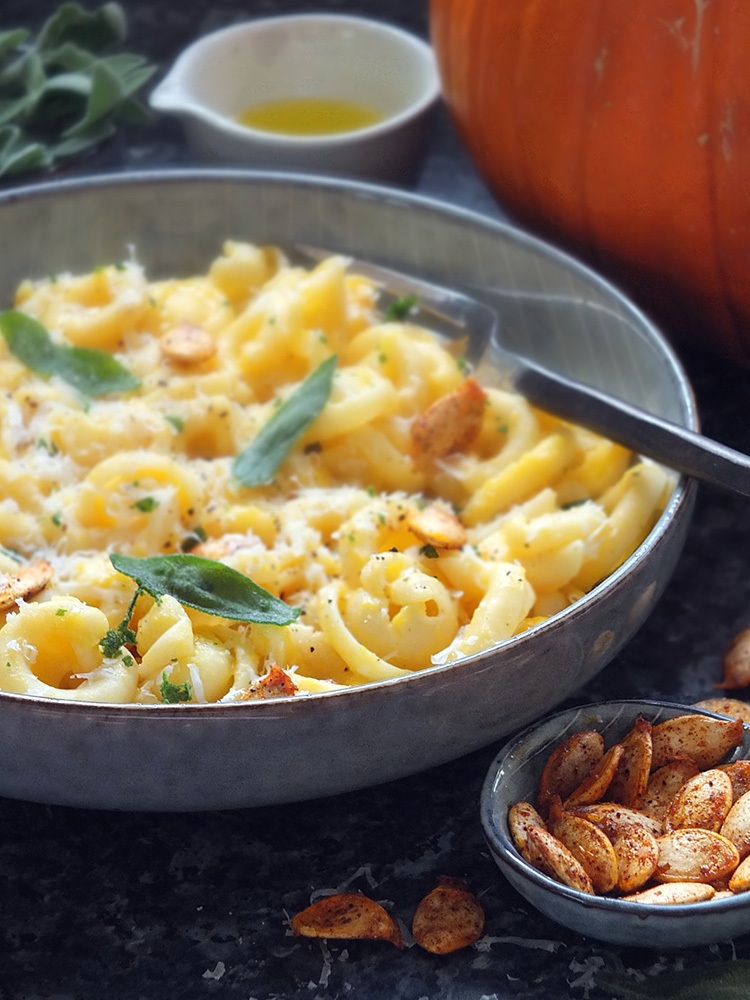 Roasted Pumpkin Pasta Recipe image