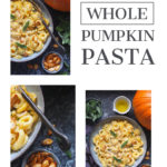 Whole pumpkin recipe pin