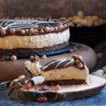 Creamy Skippy Peanut Butter Cheesecake slice picture