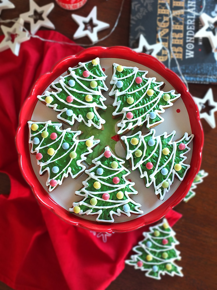 Christmas Tree Cookies image