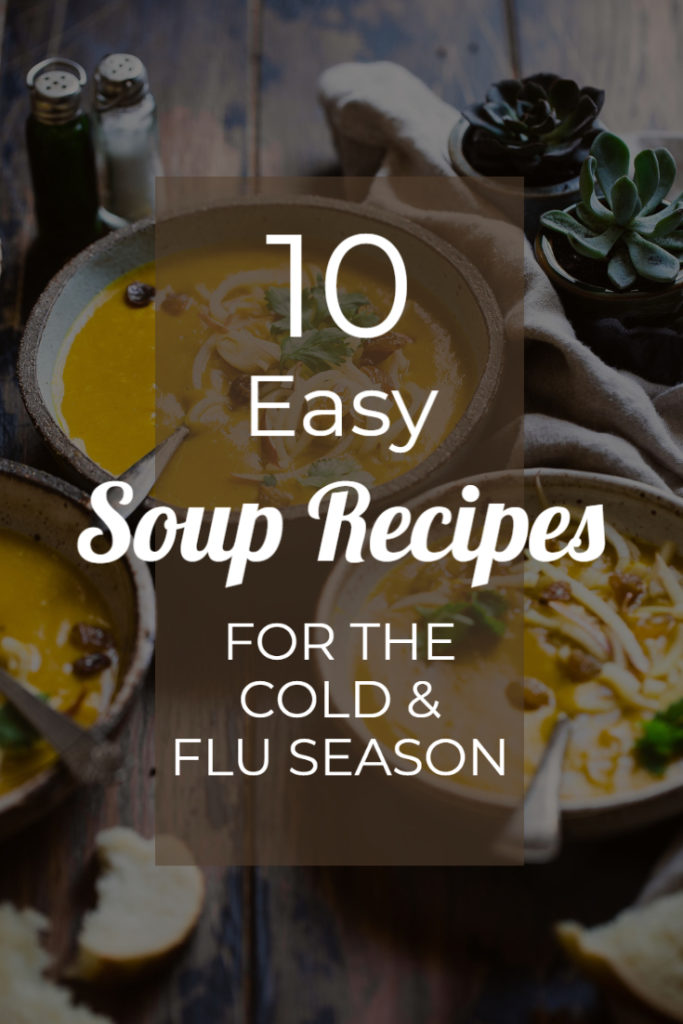 10 Easy Soup Recipes for the Cold and Flu Season image