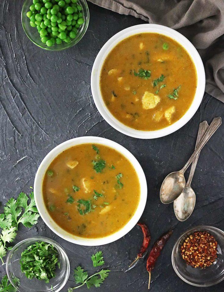 Ginger Pumpkin Chicken Soup Recipe