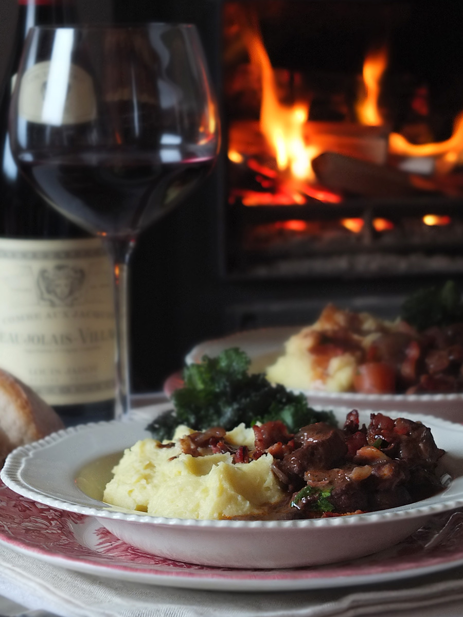 Lamb Bourguignon Recipe photo