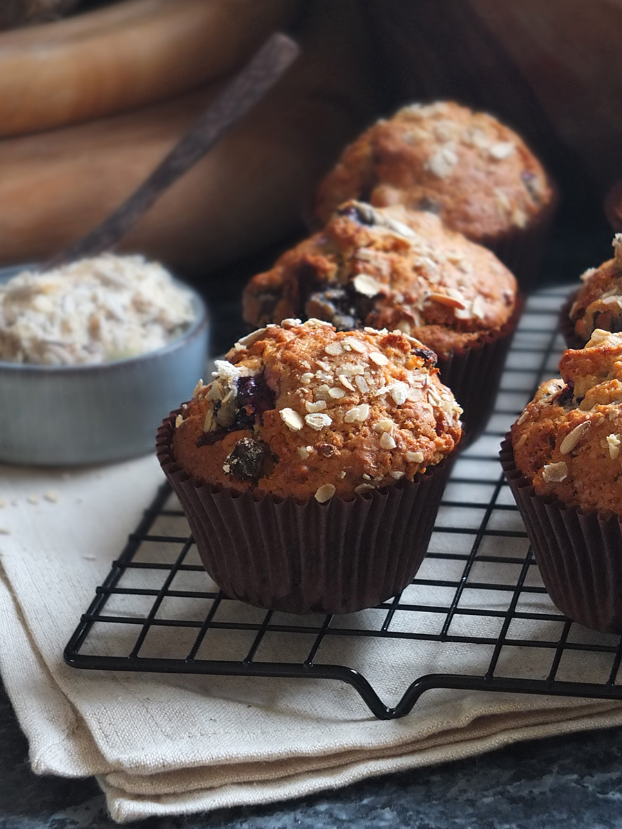 Blueberry Muesli Muffins Recipe picture
