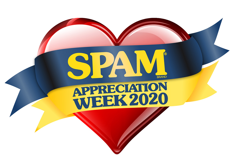 SPAM Appreciation Week 2020 logo