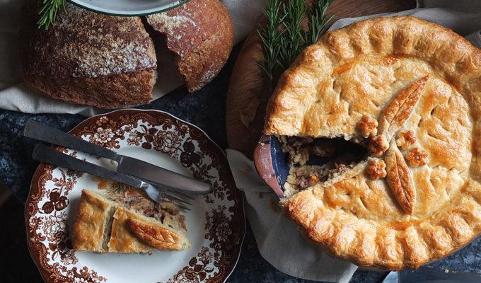 Roast Lamb & Rosemary Pie