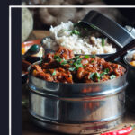 Gluten-free Lamb Curry recipe pin image