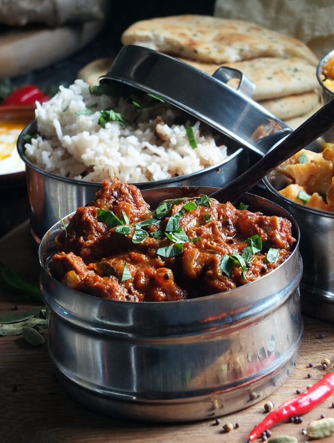 gluten free lamb curry image