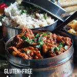 Gluten free lamb curry pin image 1