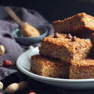 Skippy Peanut Butter flapjacks recipe image