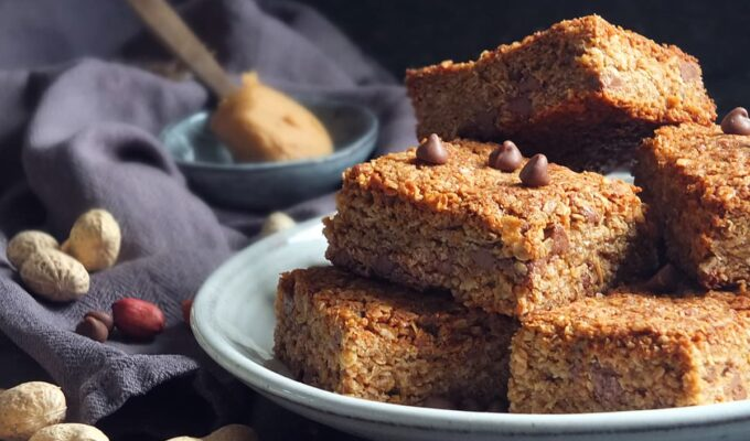 SKIPPY® Peanut Butter & Chocolate Chip Flapjacks #SKIPPY4July