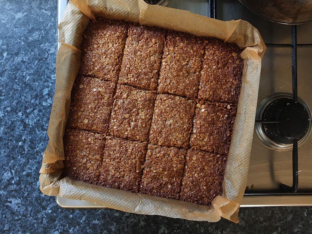 Skippy peanut butter flapjacks recipe step 7