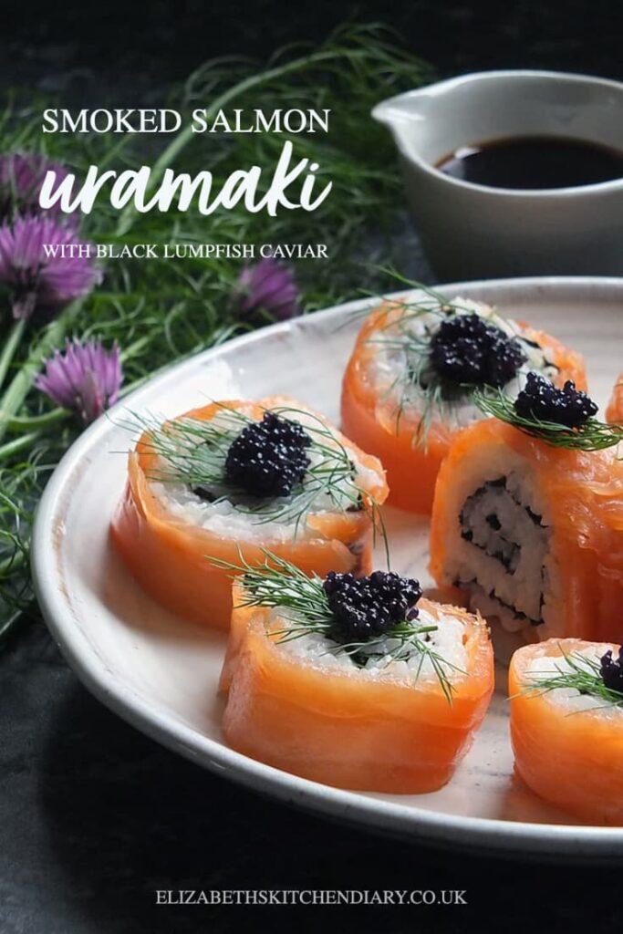 Smoked Salmon Uramaki pin EKD