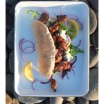 BBQ Lamb Pitta recipe pinterest pin image