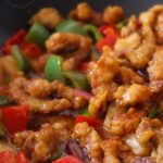 Image of sweet and sour pork.