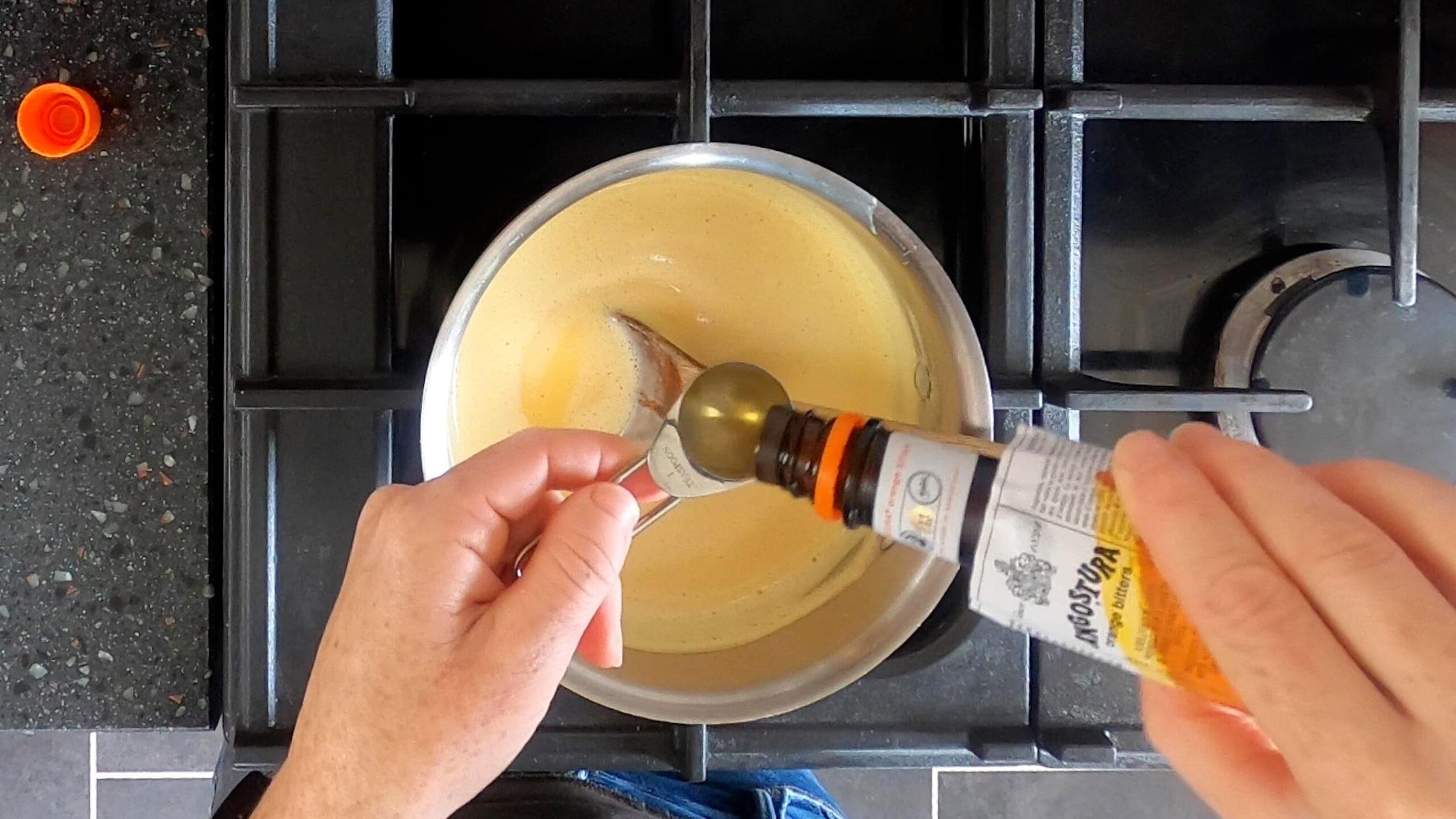 How to make custard ice cream base image