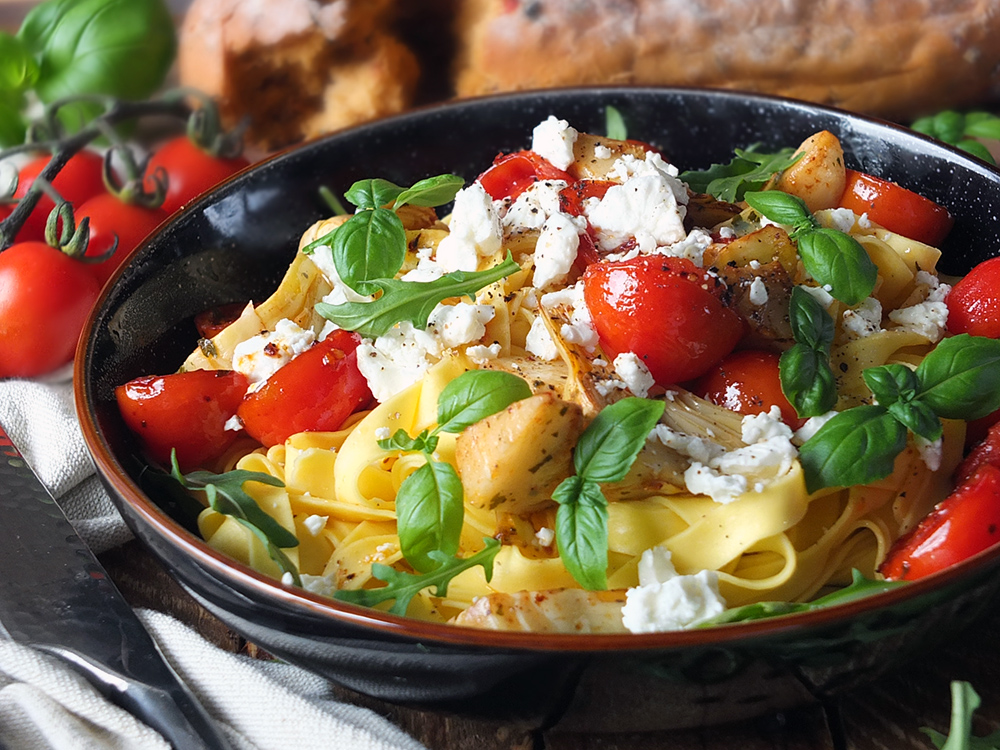 Easy Dinner Pasta Recipe for One Person