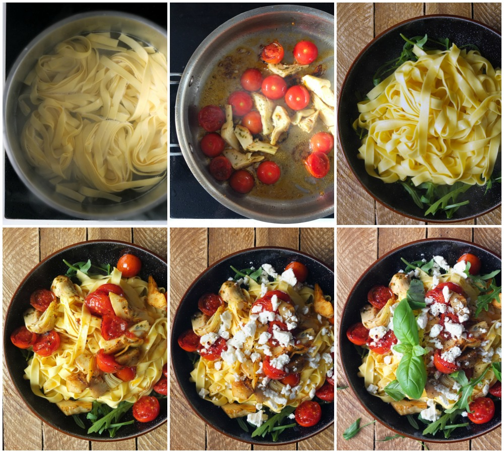 How to make an easy pasta dish for one person