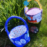 Recycled Newspaper Easter Baskets