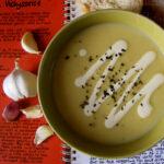 Roasted Garlic, Tattie & Leek Soup