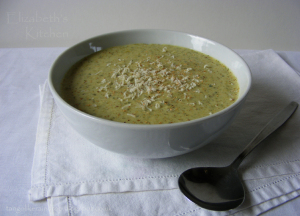 Broccoli and Watercress soup