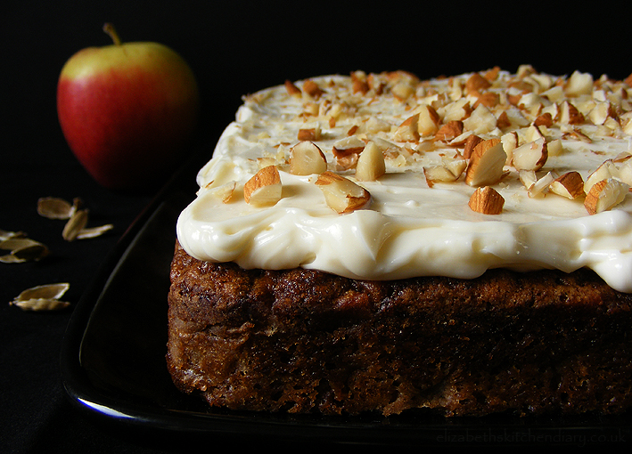 Apple Cardamom Cake with Quince Frosting | Elizabeth's ...