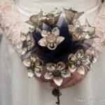 Origami Steampunk Wedding Bouquet Tutorial
