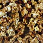Salted Caramel Peanut Popcorn