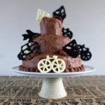 Three Tier Chocolate Birthday Cake