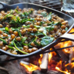Vegan Camping Recipes: Middle-Eastern Spiced Chickpeas