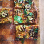 Heritage Wheat Wholegrain Pizza with Summer Pesto and Grilled Vegetables
