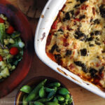 Grilled Veggie Lasagna with Wild Garlic Pesto