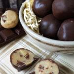 Triple Chocolate Chip Cookie Dough Bites