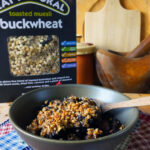 Blackberry & Apple Skillet Breakfast Crumble
