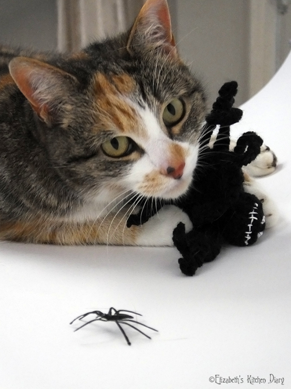 Jack Skellington Crochet Spider Cat Toy