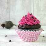 Roasted Beetroot & Raw Cacao Nib Cupcakes