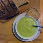 Broccoli and Cauliflower Soup for One