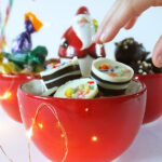 Peppermint Candy Cane Christmas Chocolates