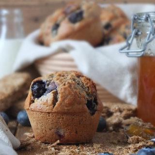 Blueberry Weetabix Muffin Recipe #blueberrymuffin #weetabix #breakfast
