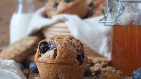 Easy Blueberry Weetabix Muffins   Elizabeth's Kitchen Diary