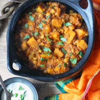 Butternut Squash & Chickpea Masala Curry