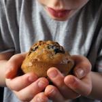 Banana Weetabix Blueberry Breakfast Muffins