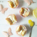 Orange Curd Butterfly Fairy Cakes