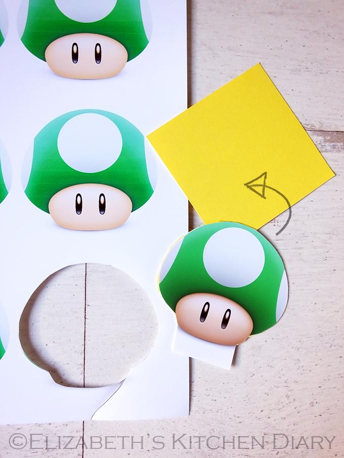 DIY Super Mario Birthday Party Invitation A StepbyStep Tutorial