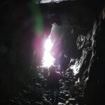 Spelunking in Burra, Shetland
