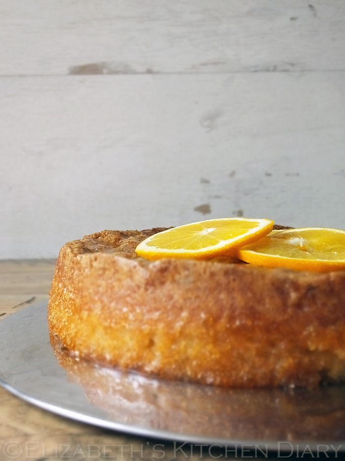 Tunisian Orange Cake Gluten Free