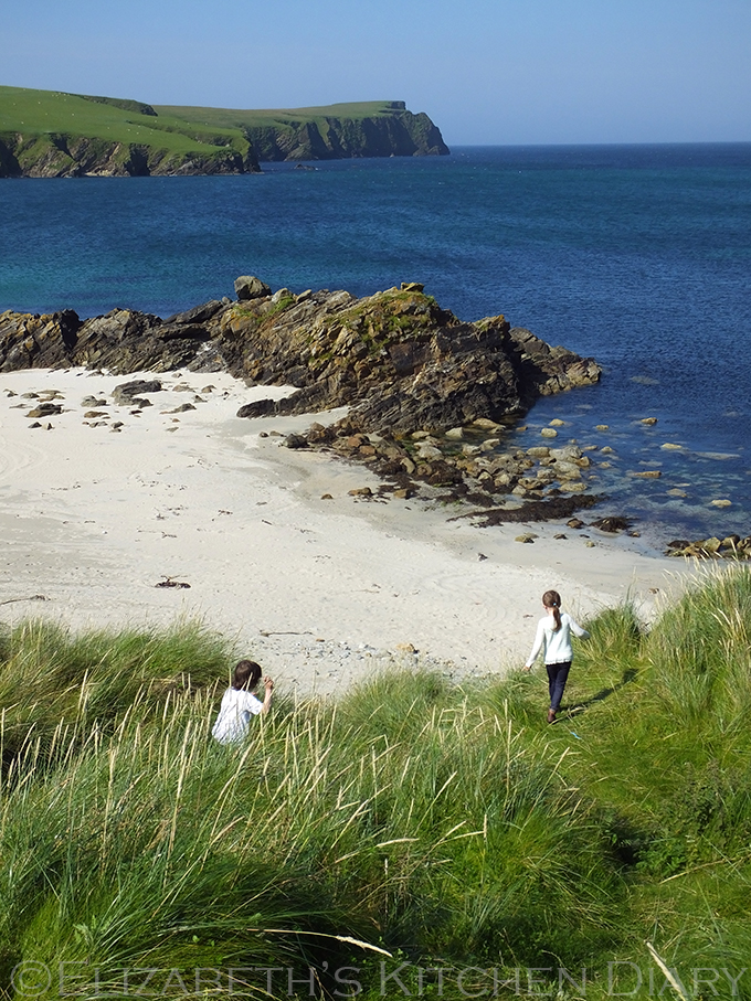 St Ninians Beach, Shetland