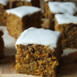 Carrot Cake with Flora Cuisine